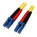 StarTech.com Cable de Red de 10m Monomodo Dúplex Fibra Óptica LC-LC 9/125