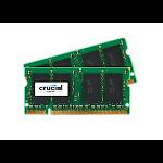 Crucial 4GB DDR2 SODIMM memory module 800 MHz