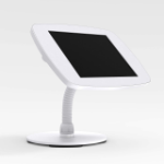 Bouncepad Counter Flex | Apple iPad 7th Gen 10.2 (2019) | White | Exposed Front Camera and Home Button |
