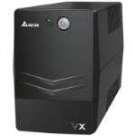 DELTA VX Line Interactive 600VA/360W Mini Tower UPS, 2x AU Outlet, 10A Input Cord, Free UPS Management Software