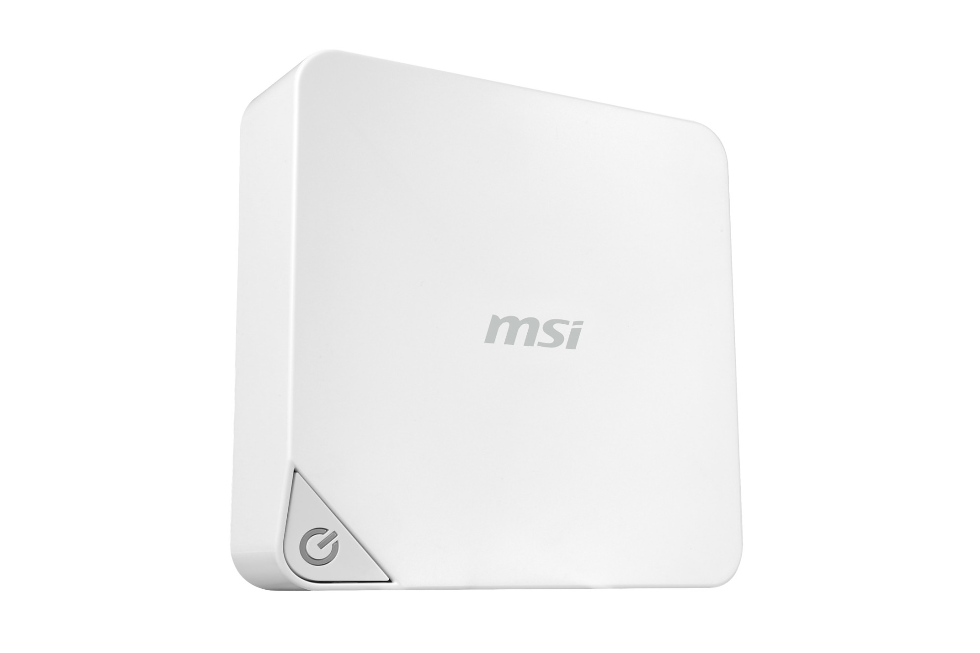 MSI Cubi -243WE 1.7GHz 3215U 0.45L sized PC White Mini PC