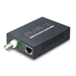 Planet VC-232G network media converter 300 Mbit/s Black