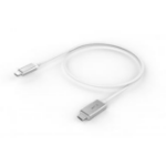 LMP 17216 USB Kabel 1,8 m USB C Silber