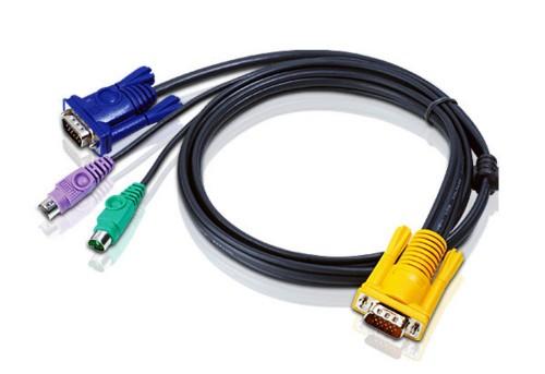 Aten 2L5203P KVM cable 3 m Black