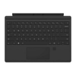 Microsoft Surface Pro Signature Type Cover FPR Microsoft Cover port UK English Black mobile device keyboard