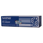 Brother PC-402RF Thermal-transfer-roll, 150 pages, Pack qty 2