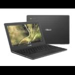 """ASUS Chromebook C204MA-GJ0208-3Y notebook LPDDR4-SDRAM 29.5 cm (11.6"""") 1366 x 768 pixels Intel® Celeron® N 4 GB 32 GB eMMC Wi-Fi 5 (802.11ac) Chrome OS Grey"""