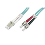 ASSMANN Electronic LC/ST, 15m 15m LC ST Blauw Glasvezel kabel