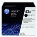 HP Q5942XD (42XD) Toner black, 20K pages, Pack qty 2