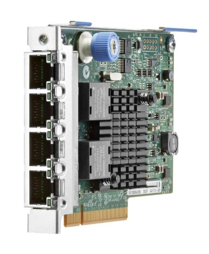 Hewlett Packard Enterprise Ethernet 1Gb 4-port 366FLR 1000 Mbit/s Internal