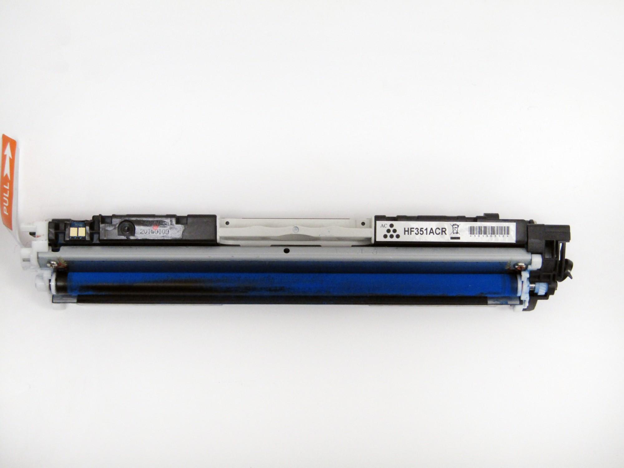 Remanufactured HP CF351A (130A) Cyan Toner Cartridge