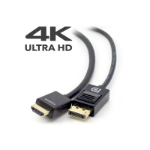 ALOGIC SmartConnect 2m DisplayPort to HDMI Cable with 4K Support - Male to Male
