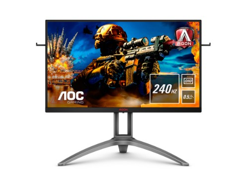 "AOC AG273QZ computer monitor 68.6 cm (27"") 2560 x 1440 pixels WQHD LED Black,Red"