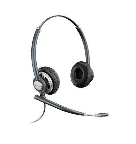 Plantronics HW720 Binaural Head-band Black headset