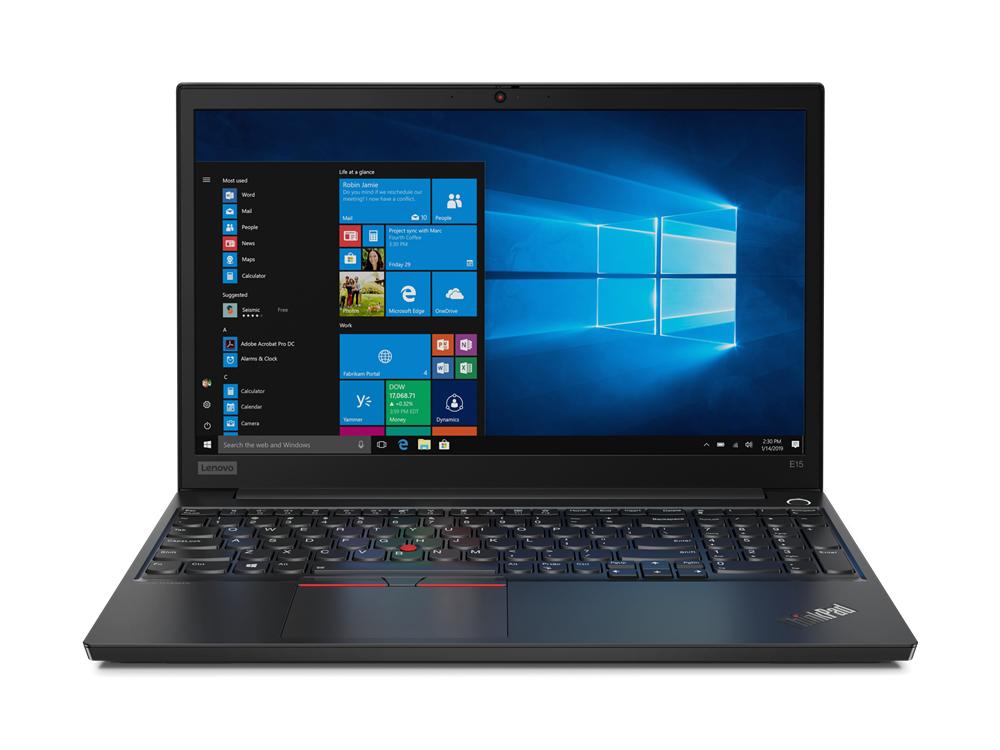 "Lenovo ThinkPad E15 Portátil Negro 39,6 cm (15.6"") 1920 x 1080 Pixeles Intel® Core™ i3 de 10ma Generación 8 GB DDR3L-SDRAM 256 GB SSD Wi-Fi 6 (802.11ax) Windows 10 Pro"