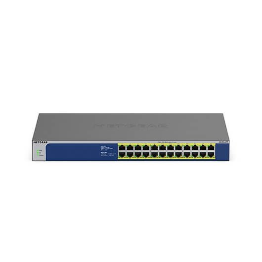 Netgear GS524PP No administrado Gigabit Ethernet (10/100/1000) Gris Energía sobre Ethernet (PoE)