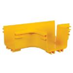 Tripp Lite SRFC5JUNT Toolless Horizontal 90-Degree T-Junction for Fiber Routing System, 120 mm (5 in.)