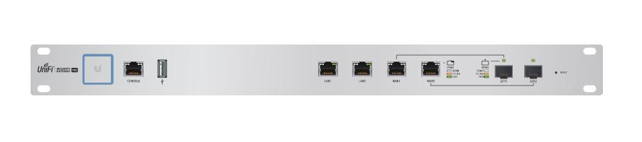 Ubiquiti Networks USG-PRO-4 gateway/controller 10, 100, 1000 Mbit/s