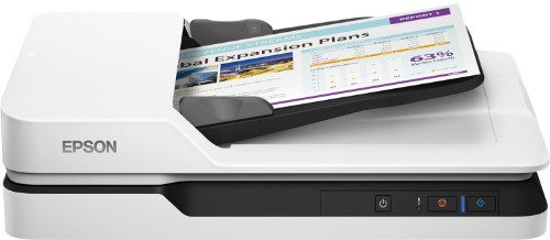 Epson WorkForce DS-1630 Flatbed & ADF scanner 1200 x 1200 DPI A4 Black, White