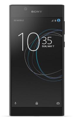 """Sony Xperia L1 14 cm (5.5"""") 2 GB 16 GB 4G Black 2620 mAh"""