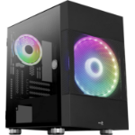Aerocool Atomic Mini Tower Black ACCS-PV26023.11