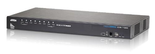 Aten CS1798 KVM switch Rack mounting Black