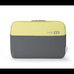 "Dicota BASE XX 15.6"" Notebook sleeve Grey,Yellow"