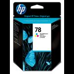 HP 78 originele drie-kleuren inktcartridge