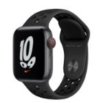 Apple Watch SE Nike 40 mm OLED 4G Grey GPS (satellite)