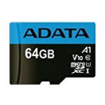 ADATA 64GB, microSDHC, Class 10 memory card UHS-I
