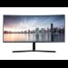 "Samsung LC34H890WGU 86,4 cm (34"") 3440 x 1440 Pixeles WQHD QLED Negro"