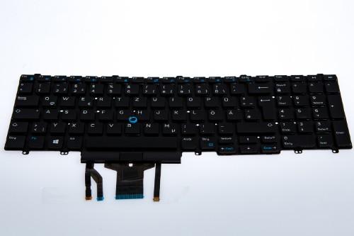 Origin Storage N/B KBD Lat 5500 / PWS 3541 German 103 Keys Backlit DP
