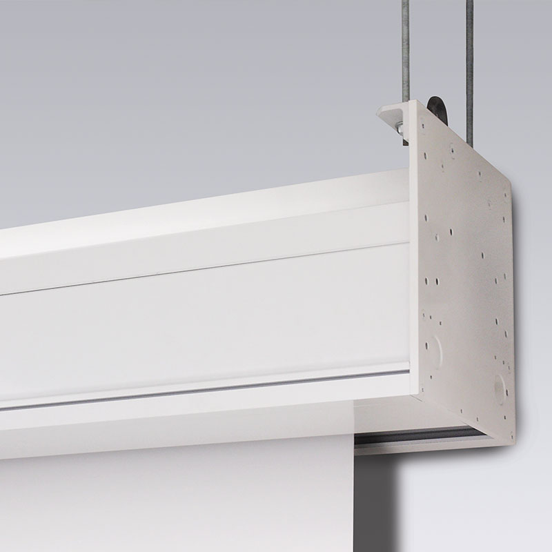 Draper Paragon/Series E - 721cm x 406cm - 16:9 - Matt White XT1000E - Ceiling Recessed Electric Screen
