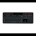 Logitech K750r RF Wireless QWERTY English Black