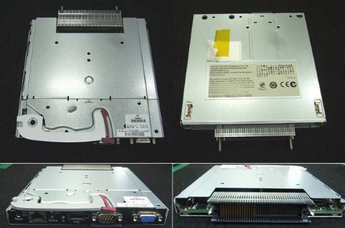 HP 503826-001 KVM switch Black