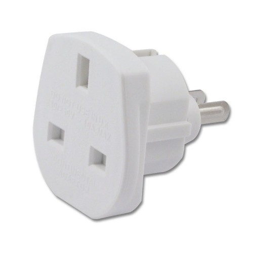 Lindy 73067 power plug adapter White