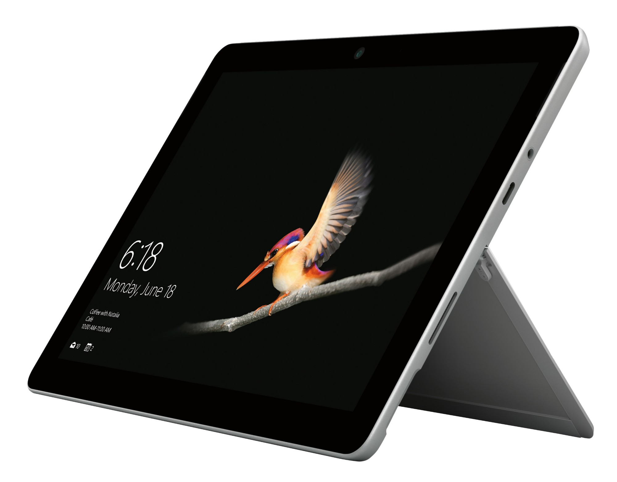 Microsoft Surface Go 128 GB Zilver