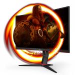 "AOC C27G2U/BK LED display 68.6 cm (27"") 1920 x 1080 pixels Full HD Black, Red"