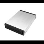 "CoreParts MS-RS/25DUAL storage drive enclosure HDD enclosure Black, Silver 2.5/3.5"""