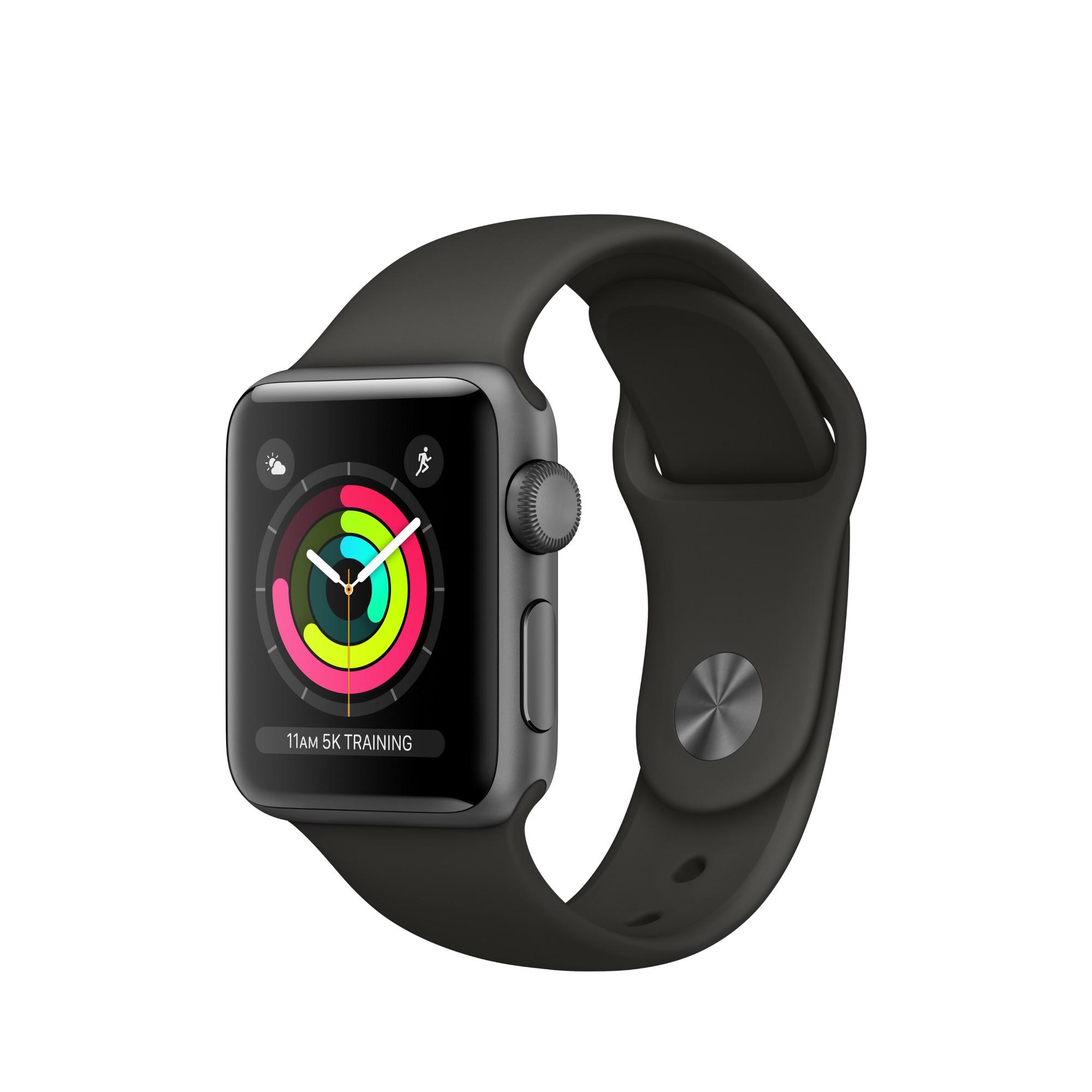 Apple Watch Series 3 OLED GPS (satellite) Grey smartwatch