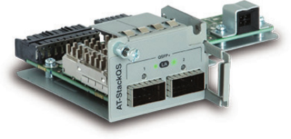 Allied Telesis AT-StackQS network switch module