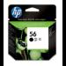 HP C6656AE (56) Printhead cartridge black, 520 pages, 19ml
