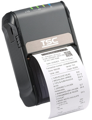 TSC Alpha-2R 203 x 203 DPI Wired & Wireless Direct thermal Mobile printer