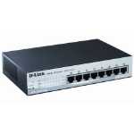 D-Link DES-1210-08P Managed network switch Fast Ethernet (10/100) Power over Ethernet (PoE) Black network switch