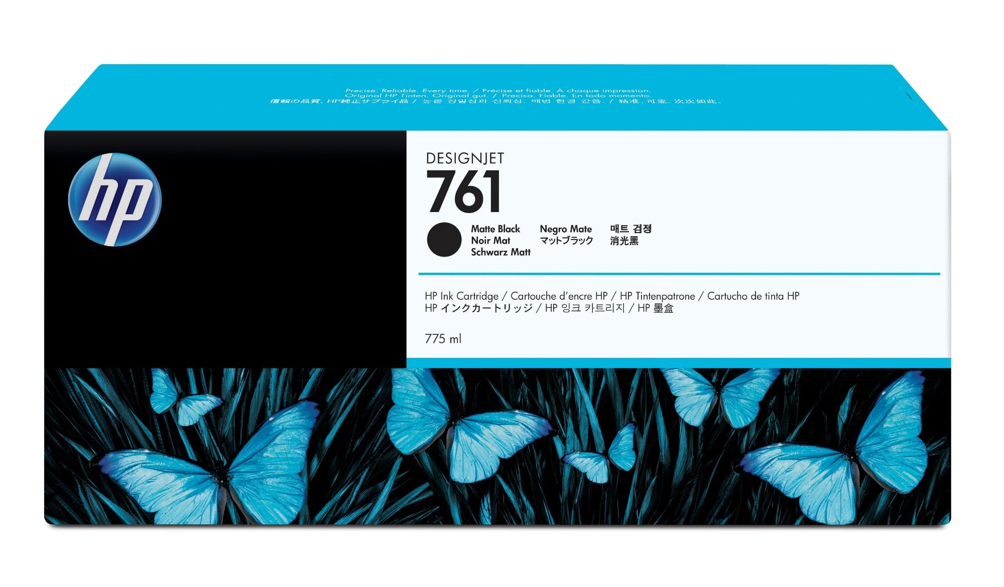 HP 761 Original Negro mate 1 pieza(s)