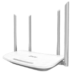 TP-LINK AC1200 wireless router Dual-band (2.4 GHz / 5 GHz) Fast Ethernet White