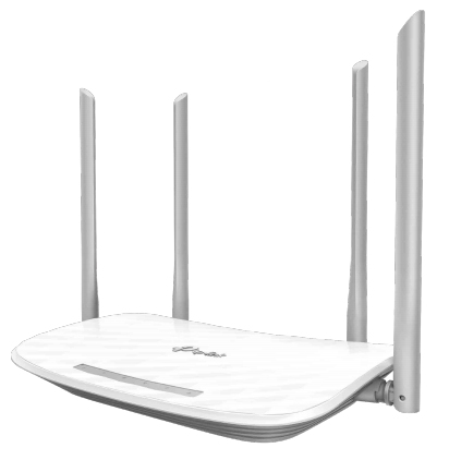 TP-LINK AC1200 Dual-band (2.4 GHz / 5 GHz) Fast Ethernet White wireless router