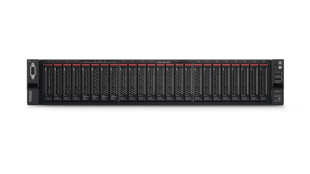 Lenovo ThinkSystem SR650 servidor Intel® Xeon® Silver 2,4 GHz 32 GB DDR4-SDRAM 400 TB Bastidor (2U) 750 W