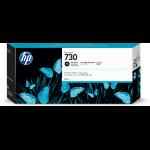 HP P2V73A (730) Ink cartridge bright black, 300ml