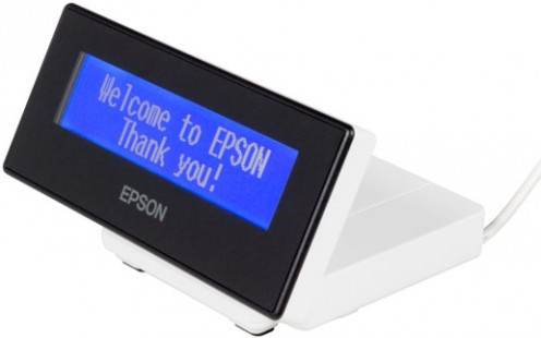 Epson DM-D30 40 digits USB 2.0 White